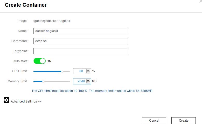 Qnap-Docker-Create