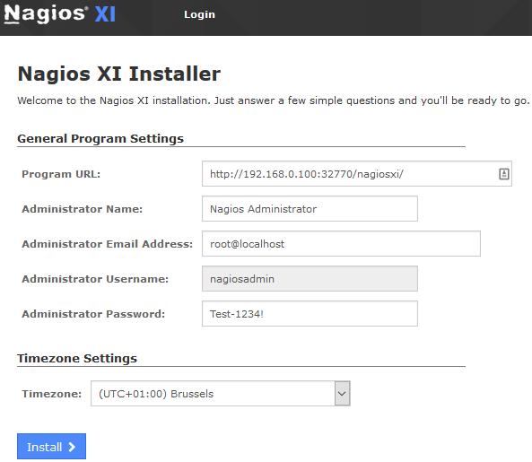 Qnap-NagiosXI-Install